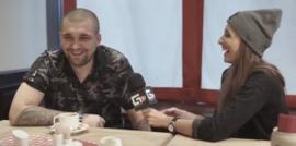 Интервью Басты с Настей Гавриленко в Челябинске